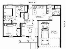 ranch style house plan 2 beds 1 5 baths 1100 sq ft plan