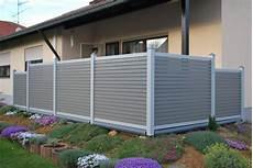 Balkongel 228 Nder Sichtschutz Gartenzaun Aus Aluminium