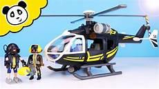 playmobil polizei sek rettungshubschrauber mit taucher
