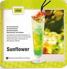 Cocktail Rezepte Mit Alkohol - sonnenblume cocktail ohne alkohol xamantao