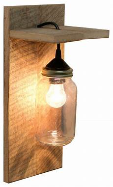 barn wood mason jar light fixture rustic wall sconces by grindstone design