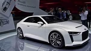 Audi Concept Cars  E Tron R8 A5 A8 Hybrid YouTube