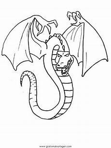 Malvorlagen Dragons Quest Drachen 024 Gratis Malvorlage In Drachen Fantasie Ausmalen