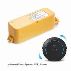 batterie irobot roomba 14 4v 3000mah vacuum battery for irobot roomba apc 400