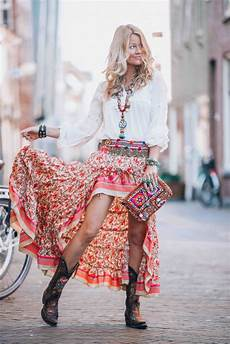 bohemian ibiza skirt that you just need to this summer
