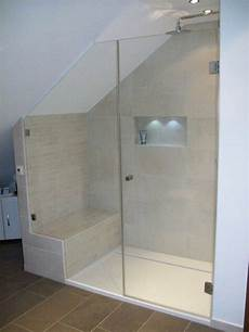 dusche unter dachschräge shower bench the a if necessary small showers in
