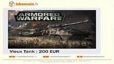 Je Vend Mon Tank