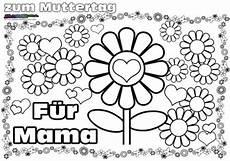 Malvorlagen Mandala Muttertag Muttertag Ausmalbild Malvorlage Gru 223 Mit Herz Babyduda