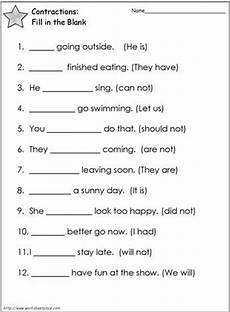 contractions worksheet 2 worksheets english grammar worksheets contraction worksheet grammar