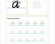 Australian Handwriting Worksheets Modern