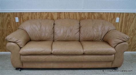 Divani Chateau D'ax Italian Leather Sofa