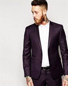 the grateful thread grateful thread suit jacket plum