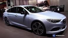 opel insignia 2018 2018 opel insignia turbo x exterior interior walkaround