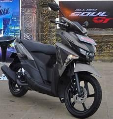 Modifikasi Soul Gt by Baru Yamaha Soul Gt 125 Blue Kredit