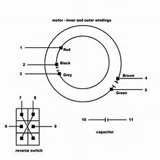 lasko fan motor wiring diagram schematic electrical wiring multispeed psc motor from ceiling fan home improvement stack exchange