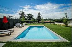 piscine contemporaine vert et bleu piscine