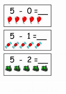 subtraction worksheets eyfs tes 10064 take away cards with pictures teaching resources