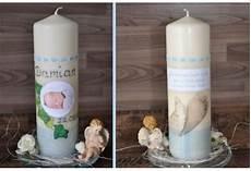 Taufkerze F 252 R Ihr Baby Mit Foto Und Taufspruch