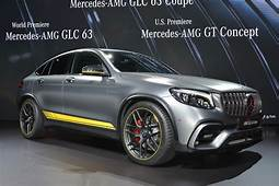The 2018 Mercedes AMG GLC63 And Coupe Are Your