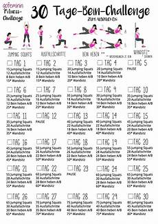 bauch beine po trainingsplan f 252 r sch 246 ne straffe beine die 30 tage bein challenge