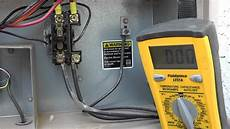 Testing Az A C Unit At The Contactor By Pushing