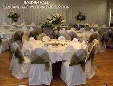unique wedding flowers and chair covers barnsley