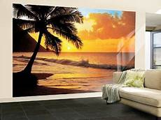 Pacific Sunset Wall Mural Print Poster Wallpaper