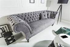 chesterfield sofa grau moebel koenig ch chesterfield sofa louise grau