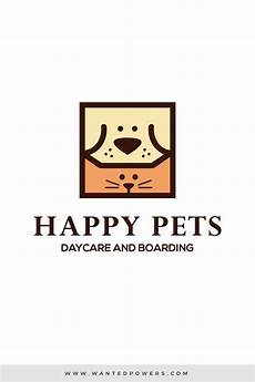 cat happy pets logo custom pre made logo design