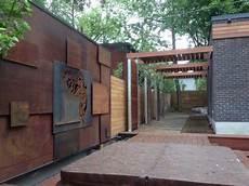 Garten Moy Cortenstahl Sichtschutz Fuer Garten Ndash 30
