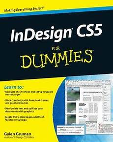 indesign cs5 for dummies free ebooks download