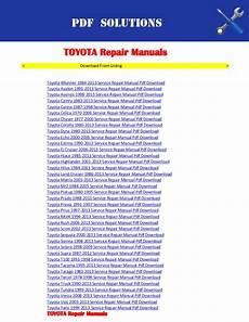 service repair manual free download 1992 toyota 4runner interior lighting repair manuals toyota pdf download