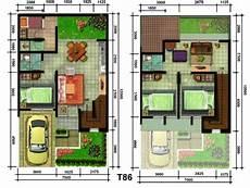 75 Gambar Desain Rumah Minimalis Modern 2 Lantai 3 Kamar