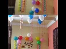 Ideas For Decorations At Home by Birthday Decoration Ideas At Home