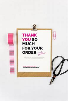 business thank you cards instant brightly bold etsy
