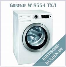 gorenje waschmaschine erfahrungen kritische kunden de