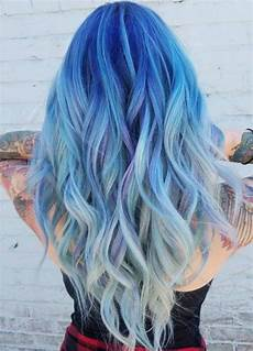 Hair Trend Is Taking Blue Hair To The Next Level