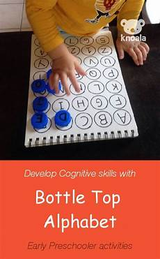 knoala two to three year old activity bottle top alphabet helps little ones l