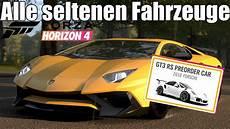 Forza Horizon 4 Alle Seltenen Exklusivfahrzeuge Im Spiel