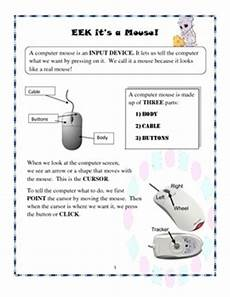 a lesson about the computer mouse for grades pre k to 2 by yasmine smith