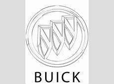 Kolorowanka z logo Buick   Kolorowanki dla dzieci
