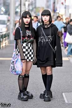 monochrome harajuku street styles w bercerk faith tokyo