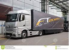mercedes future truck ft 2025 trailer editorial photo