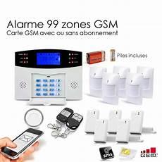 Alarme Maison Sans Fil Gsm 99 Zones Toutes Les