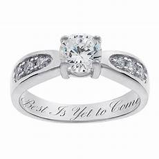 wedding rings engraved sterling silver brilliant cz engraved wedding ring