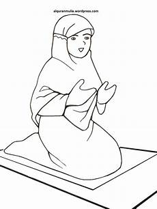 Gambar Kartun Muslimah Lagi Sholat Gambar Kartun
