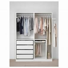 Pax Wardrobe White 150 X 58 X 201 Cm Ikea