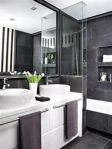 Badezimmer Weiß Grau - cooles badezimmer einrichten schwarz wei 223 und grau