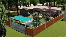 jardin et maison moderne gaelle nicolle c 244 t 233 maison