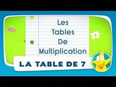 table de 7 comptines pour enfants la table de 7 apprendre les